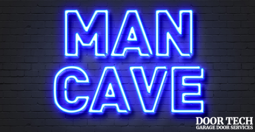 transform your garage into a man cave